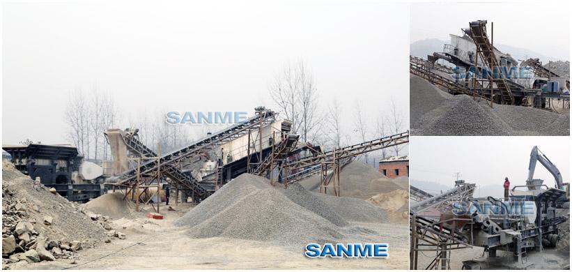 huagang岩生产线