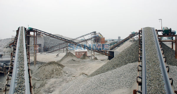 河卵shizhi砂生产线